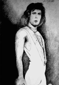 Freddie Mercury in 1974 - di Iannozzi Giuseppe