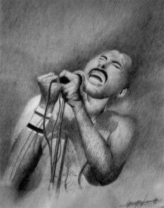 Freddie Mercury ritratto