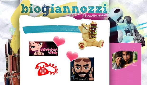 Biogiannozzi & RomanticaVany - il blog della bella e la bestia!