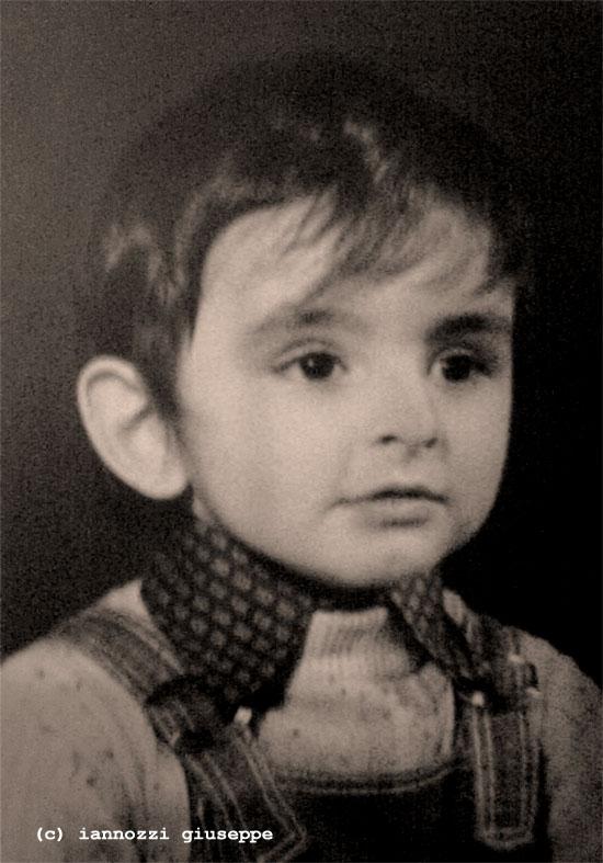 Iannozzi Giuseppe a tre anni