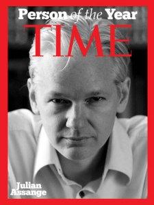 Julian Assange - fotomontaggio