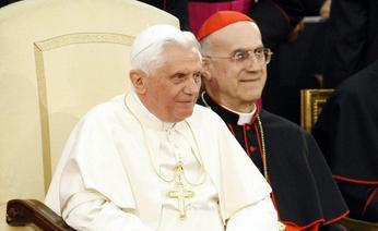 Ratzinger e il cardinale Bertone
