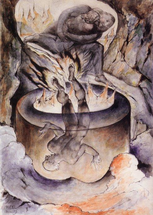 William Blake - Simoniaci
