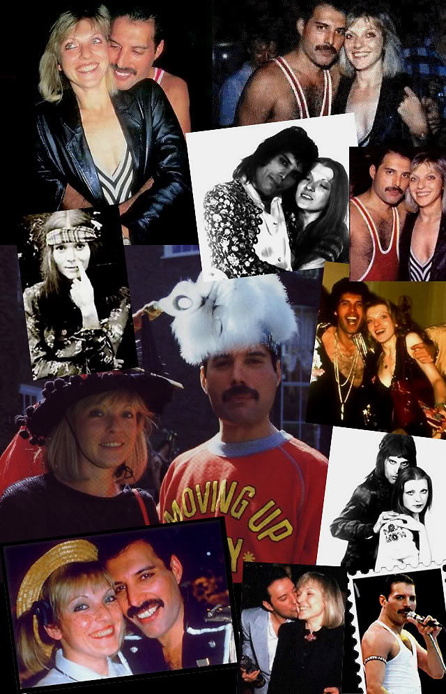 Freddie Mercury and Mary Austin