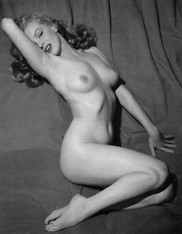 Marilyn Monroe nuda
