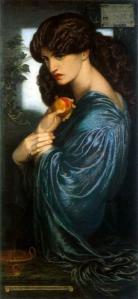 Proserpina - Gabriel Dante Rossetti