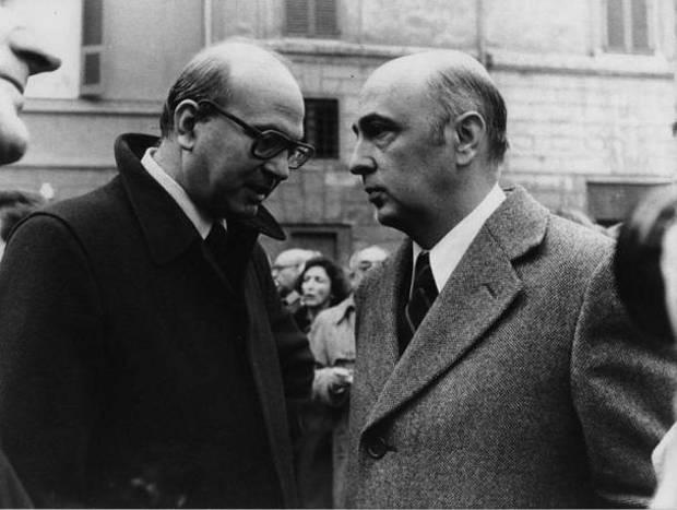 Craxi e Napolitano