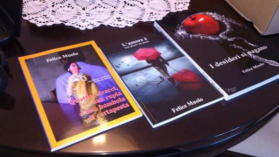 Felice Muolo - i suoi libri