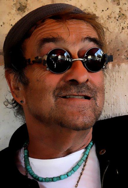 Lucio Dalla - portrait by Giuseppe Iannozzi