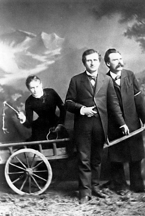 Nietzsche - Paul Rée - Lou Von Salomé