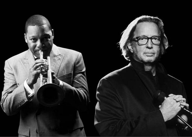 Eric Clapton and Wynton Marsalis