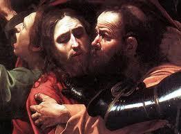 bacio di Giuda (particolare) - Caravaggio