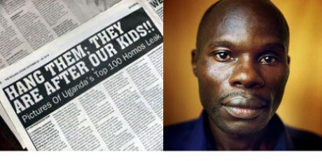 David Kato, murdered Ugandan gay rights activist
