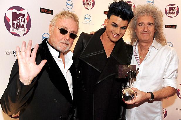 Brian May, Roger Taylor, Adam Lambert