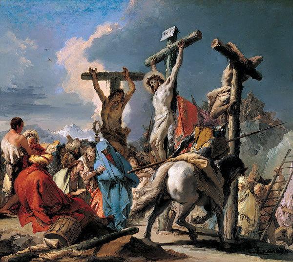 Giambattista Tiepolo - The Crucifixion