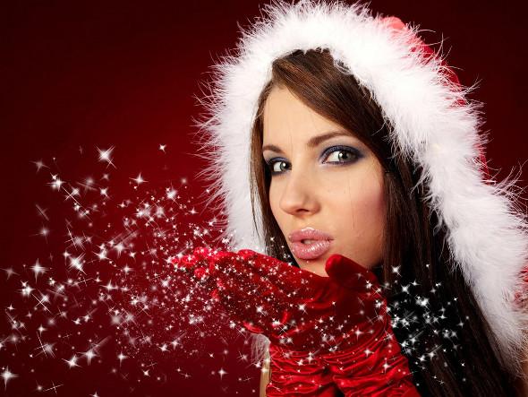 ragazza di Natale