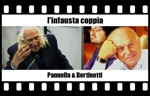 Pannella e Bertinotti - Infausta coppia