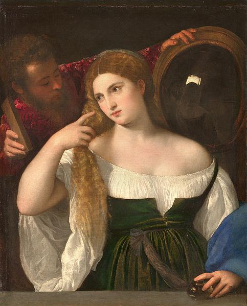 Tiziano - Donna alla specchio