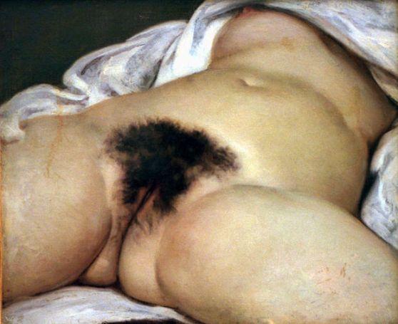 L'origine du monde (1866) - Gustave Courbet