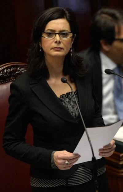 Laura Boldrini - presidente della Camera
