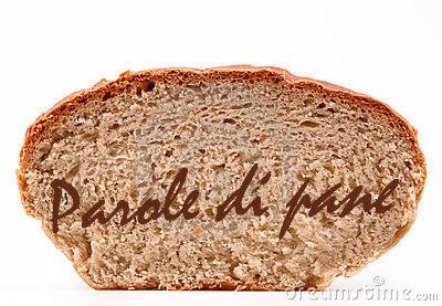 parole di pane