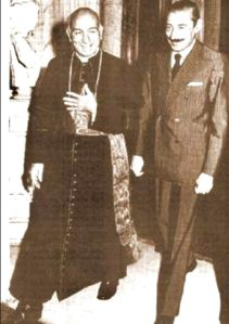 Pio Laghi e Jorge Videla