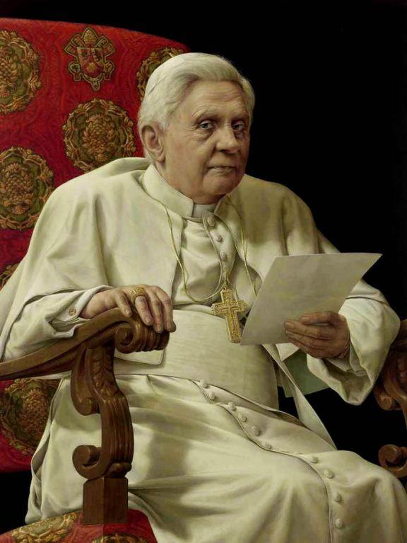Benedetto XVI - Michael Triegel