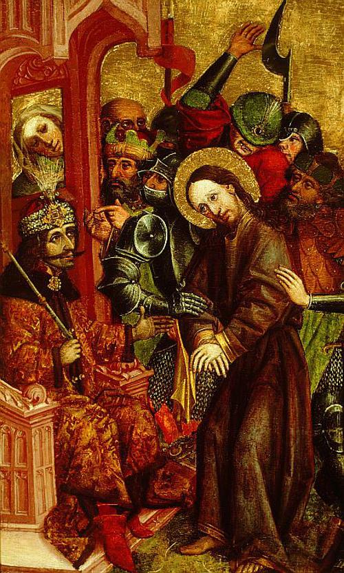 Vlad Tepes ritratto come Pilato