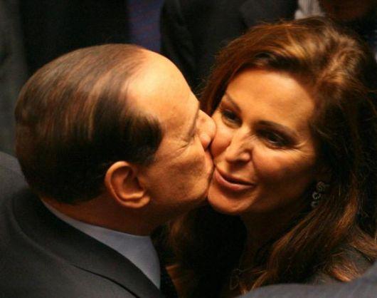 Berlusconi e Santanchè