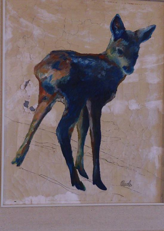 dipinto su tela di Felice Muolo