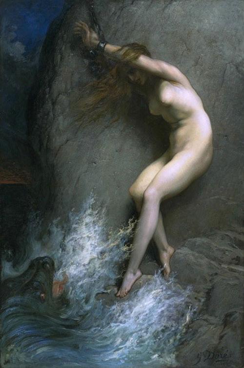 Andromeda incatenata