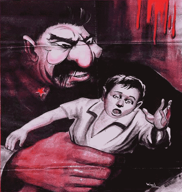 comunista mangia bambini