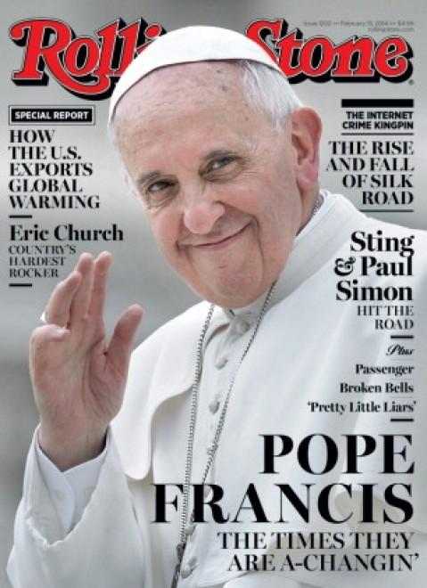 Papa Franceso su Rolling Stone