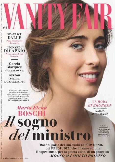Maria Elena Boschi - Vanity Fair