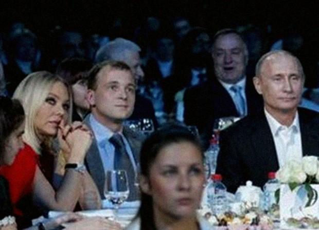 Ornella Muti e Putin