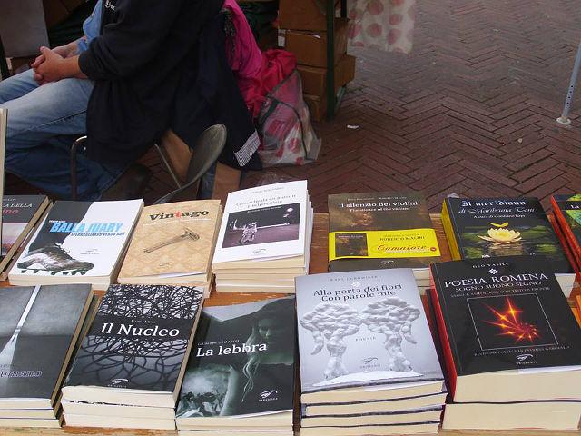 """""""La lebbra"""" di Giuseppe Iannozzi a la Fiera del Libro di Imperia"""