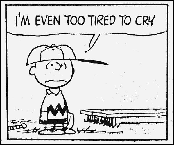 troppo stanco