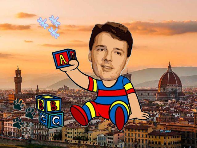 Matteo Renzi bambino