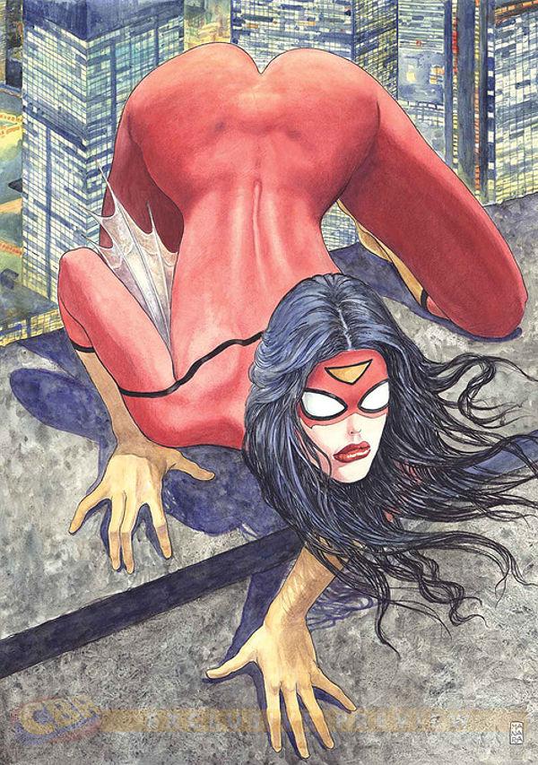 Spider Woman by Milo Manara