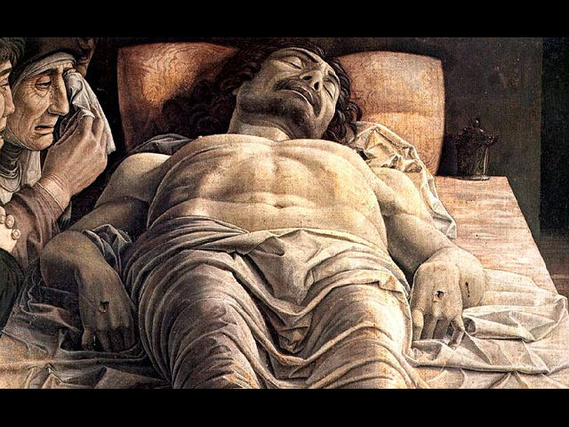 Cristo morto - Andrea Mantegna