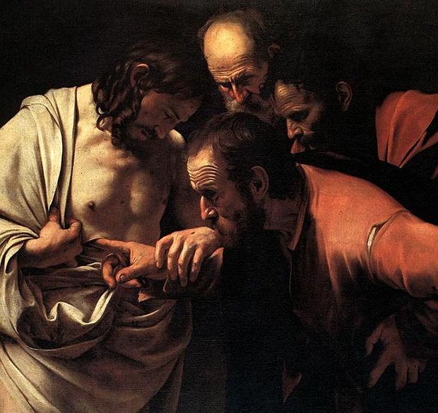 incredulità di San Tommaso - Caravaggio