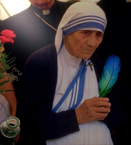 Madre Teresa degli scrittori!