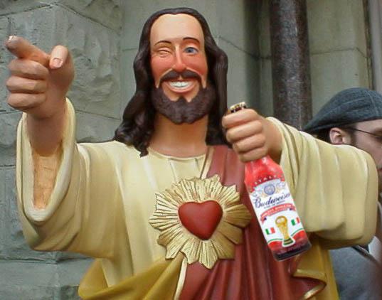 Cristo compagnone ubriaco