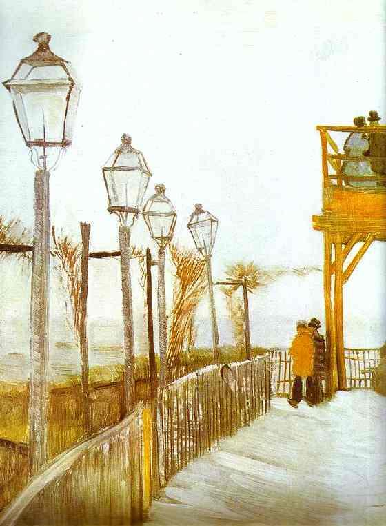 Montmartre - Van Gogh