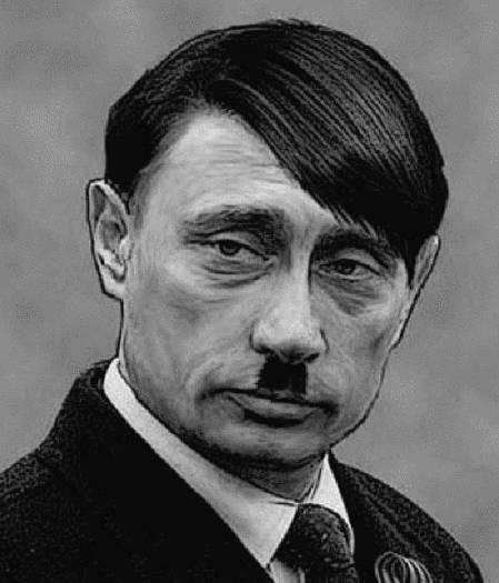 Putin uguale a Hitler