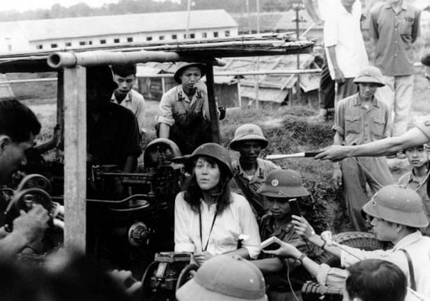 Jane Fonda pacifista in Vietnam