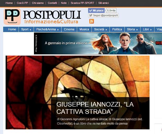 La cattiva strada di Iannozzi Giuseppe su PostPopuli.it