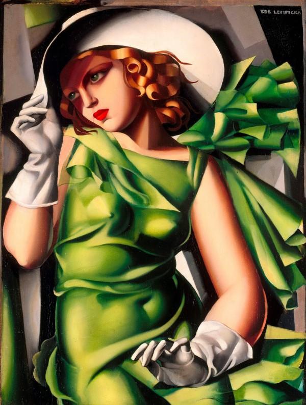 Tamara de Lempicka - Jeune fille en vert