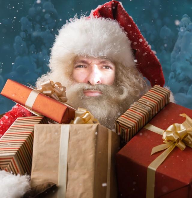 Iannozzi Giuseppe come Babbo Natale?