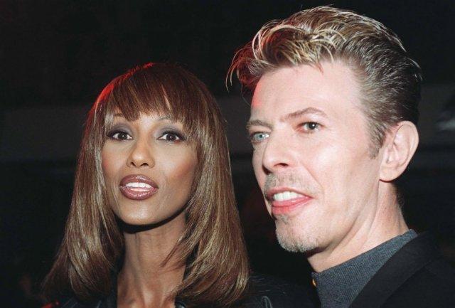 David-Bowie - Iman